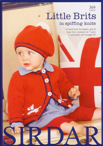 Little Brits in Spiffing Knits by Sirdar (369B)