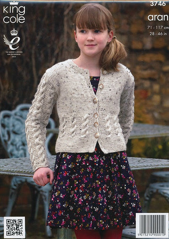 Tunic, Cardigan and Snood in King Cole Fashion Aran (3746)