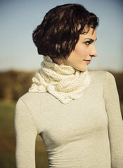 North Hollow Cowl in Blue Sky Extra (3820)