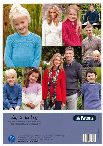 8 Styles in Patons Diploma Gold DK (03827)