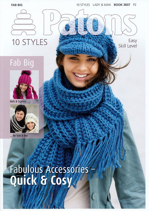 Image of 10 Styles in Patons Fab Big (3837)