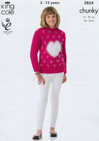 Sweaters in King Cole Chunky (3854)