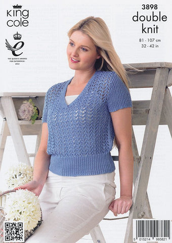 Tops in King Cole Giza Cotton DK (3898)