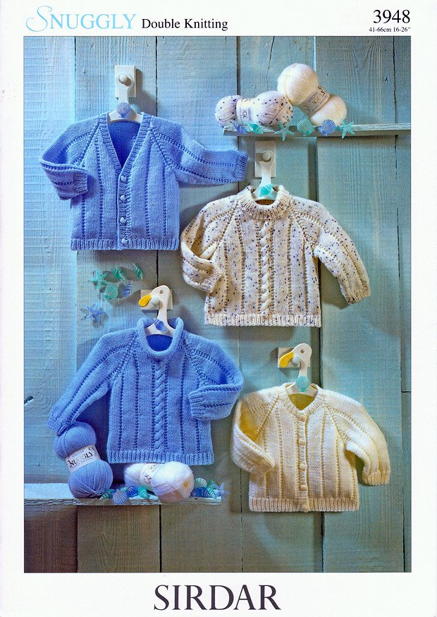 97c0caa0f7dd Sweaters and Cardigans in Sirdar Snuggly DK (3948) – Deramores