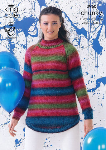 Sweaters in King Cole Riot Chunky (3960)