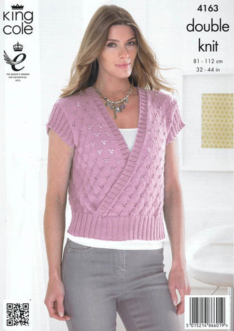 Sweater and Bolero in King Cole DK (4163)