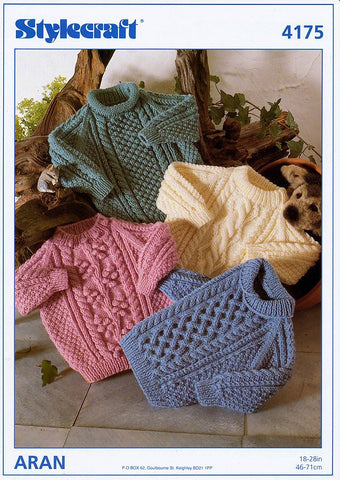 Sweaters in Stylecraft Special Aran (4175)