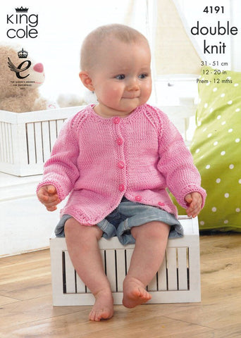 Baby Set in King Cole DK (4191)-Deramores