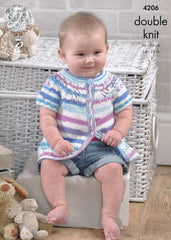 Baby Set in King Cole DK (4206)