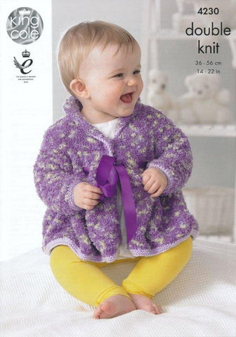 Baby Set in King Cole DK (4230)-Deramores
