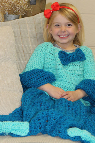 Children's Princess Blanket Crochet Kit and Pattern in Stylecraft Yarn (9491)