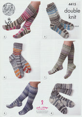 Socks in King Cole Drifter Double Knit (4415)