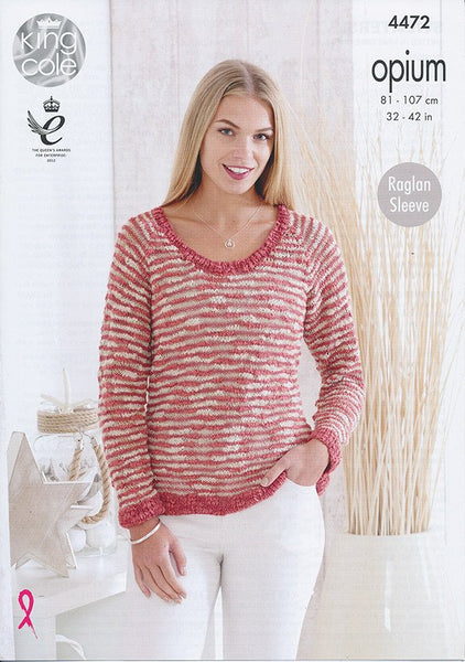 Sweaters in King Cole Opium (4472)