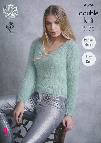 Sweaters in King Cole Embrace DK (4594)