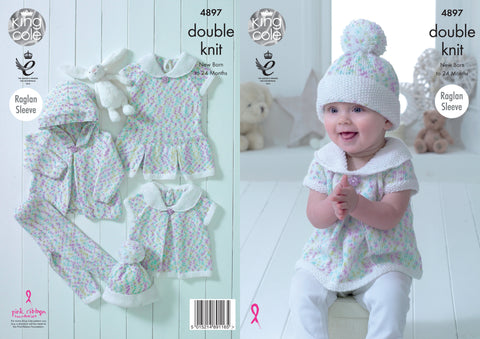 PATONS KNITTING PATTERN Double Knitting C 4913