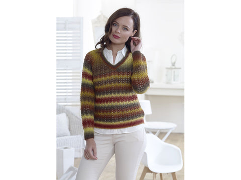 Round & V-Neck Sweaters in King Cole Riot DK (5004)