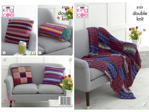 Interior Accessories in King Cole Riot DK (5151)