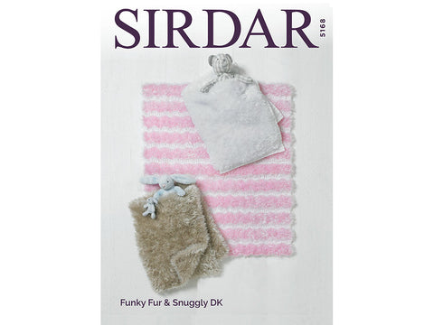 Blankets in Sirdar Funky Fur and Sirdar Snuggly DK (5168)