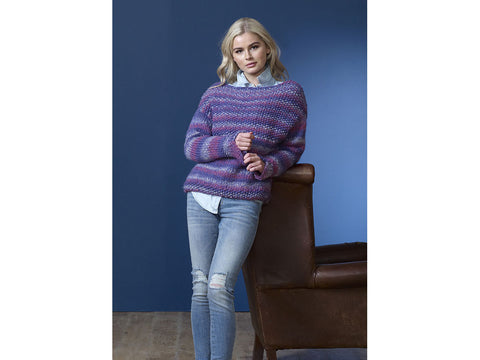 Ladies Sweaters in King Cole Orbit Super Chunky (5174K)