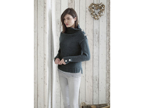 Sweaters and Hat in King Cole Timeless Chunky (5178K)