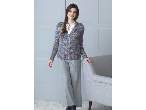 Cardigan & Sweater in King Cole Shadow Chunky (5187K)