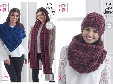 Accessories in King Cole Big Value Super Chunky Stormy (5198)