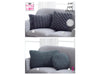 Cushions in King Cole Big Value Super Chunky Stormy (5199)