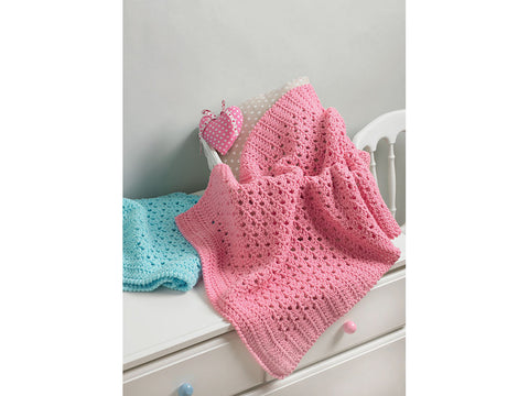 Blanket Crochet Kit and Pattern in Hayfield Yarn (5207)