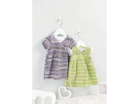 Dress in Sirdar Snuggly Baby Crofter DK (5214)