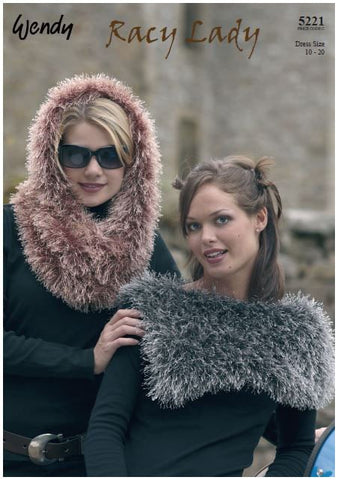 Collar and Snood in Wendy Racy Lady (5221) Digital Version-Deramores