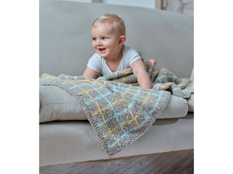 Blanket in Sirdar Snuggly Bouclette (5258)
