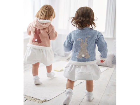 Girl's Sweaters in Sirdar Cashmere Merino and Bunny (5304S)
