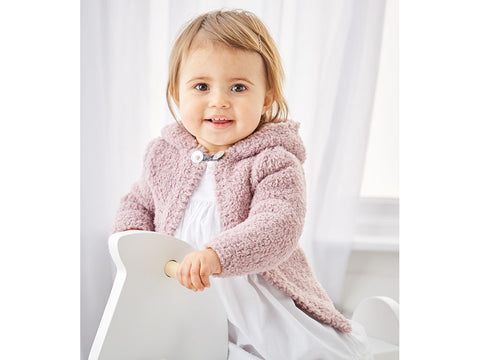 Girl's Jackets in Sirdar Snuggly Bunny (5310S)