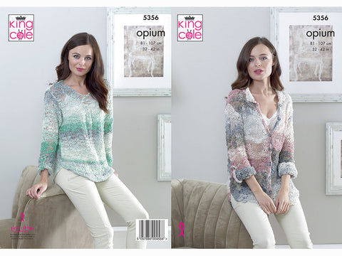Shirt and Top in King Cole Opium (5356K)