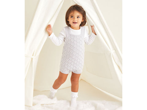 Baby Romper Knitting Kit and Pattern in Sirdar Yarn (5370)