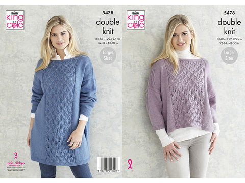 Sweaters in King Cole Subtle Drifter DK (5478K)