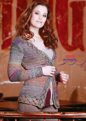 Cherry Cardigan In Adriafil Cristallo - Digital Version-Deramores