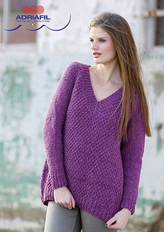 Joss Pullover in Adriafil Scozia - Digital Version-Deramores