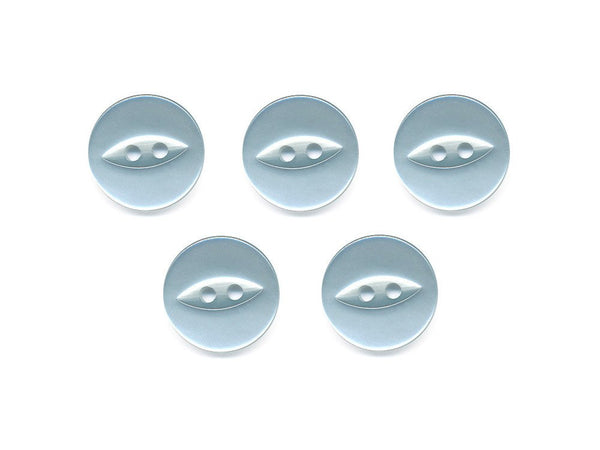 Fish-Eye Buttons - Blue - 067-Deramores