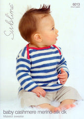 Matelot Sweater in Sublime Baby Cashmere Merino Silk DK (6013)