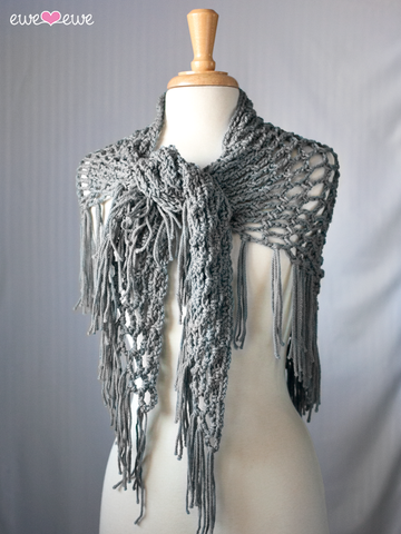 Crochet Shawl by Heather Walpole-Deramores