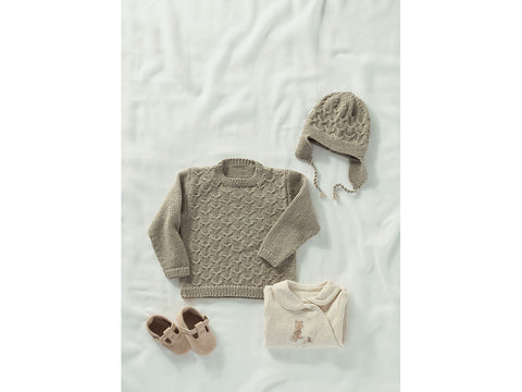 Child's Sweater and Helmet in Sublime Baby Cashmere Merino Silk DK (6166S)
