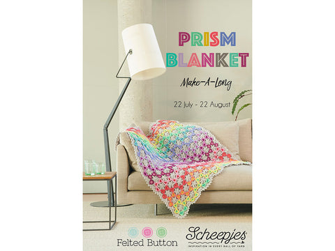 Prism Blanket MAL by Felted Button in Scheepjes Colour Crafter