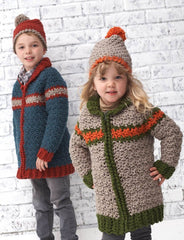 Kids on the Go! in Bernat Softee Chunky