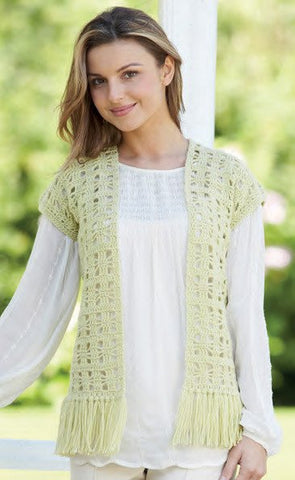 Womens Waistcoats in Sirdar Country Style DK (7218) - Digital Version