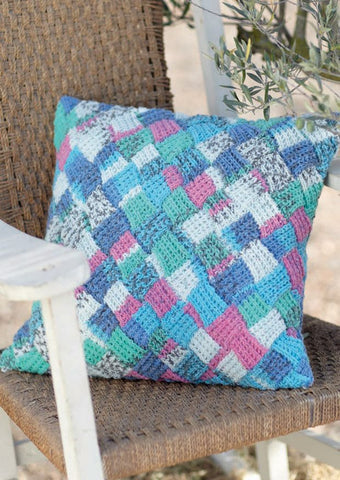 Cushion Covers in Sirdar Crofter DK (7228) - Digital Version-Deramores