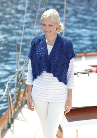 Womens and Girls Cardigans in Sirdar Cotton Rich Aran (7276) - Digital Version