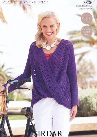Top in Sirdar Cotton 4 ply (7306)