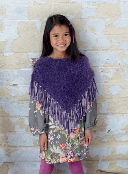 Womens and Girls Ponchos in Sirdar Ophelia (7702)