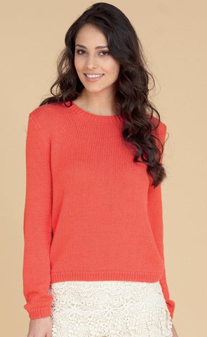 Womens Sweater in Hayfield Fiesta DK (7717)
